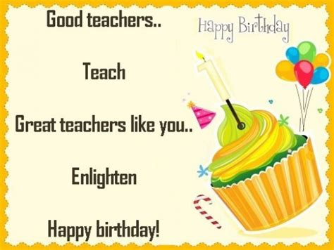 Happy Birthday Wishes To Lecturer Happy Birthday Teacher Wishes Pictures