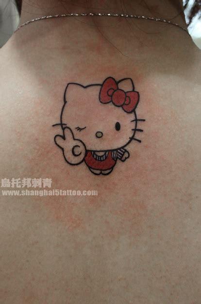 hello kitty 上海纹身店 上海乌托邦纹身 专业纹身店 以专业技术和真诚态度带给每一位纹身爱好者独一无二