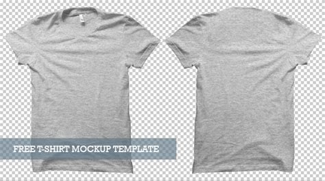 20 Free T Shirt Mockups For Designers Inspirationfeed T Shirt Mockup Template