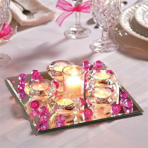78 ideas about mirror wedding centerpieces on pinterest