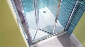 shower bi fold doors aquafloe 760 bi fold shower door