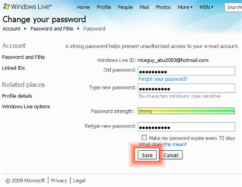 reset windows 8 password hotmail i have had problems with my hotmail account on my imac