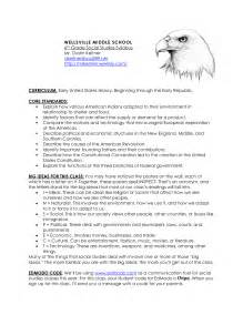 Middle School Syllabus Template by 10 Best Images Of Sle Syllabus High School High