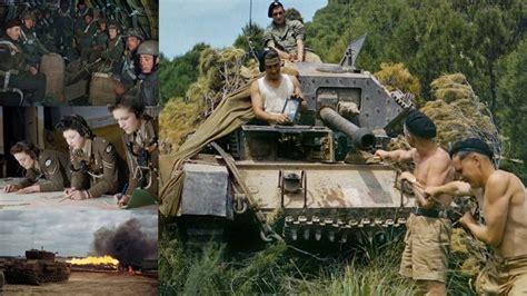 film kisah nyata perang dunia 16 foto berwarna yang langka dari perang dunia ii tak