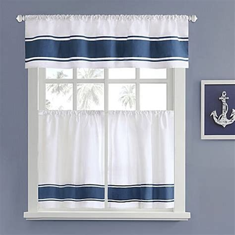 kitchen and bathroom window curtains 22 best images about nautical curtains on pinterest