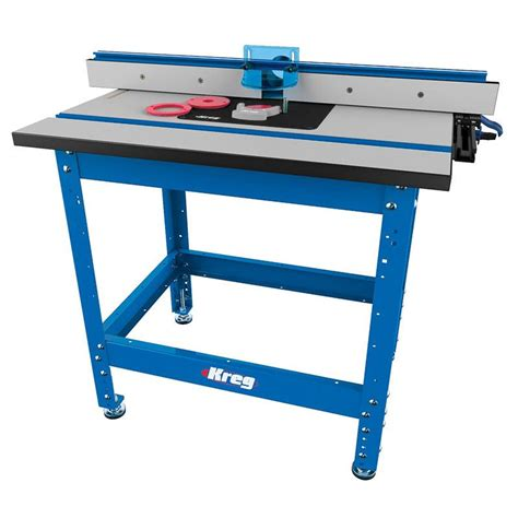 router bench kreg 174 precision router table system routing kreg tool