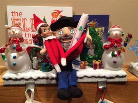 the mensch on the bench want to get rid of the elf on the shelf try a mensch on a