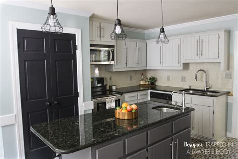 holiday kitchen cabinet reviews remodelaholic diy refinished and painted cabinet reviews