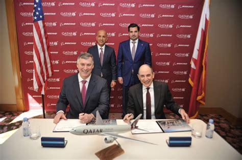 Resignation Letter Qatar Airways qatar airways signs deal to purchase five boeing 777