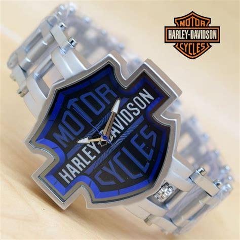 Jam Tangan Harley Davidson Silver Black jual jam tangan harley davidson boy harga murah