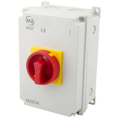 ac p ip rotary isolator complete  earth terminal