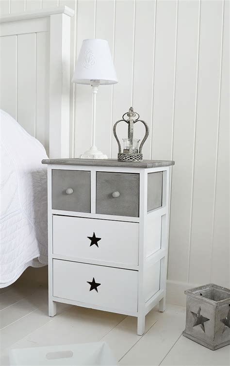 grey and white l grey and white furniture cottage drawers large images
