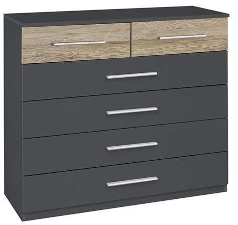 commode contemporaine chambre commode contemporaine 6 tiroirs gris ch 234 ne clair kora
