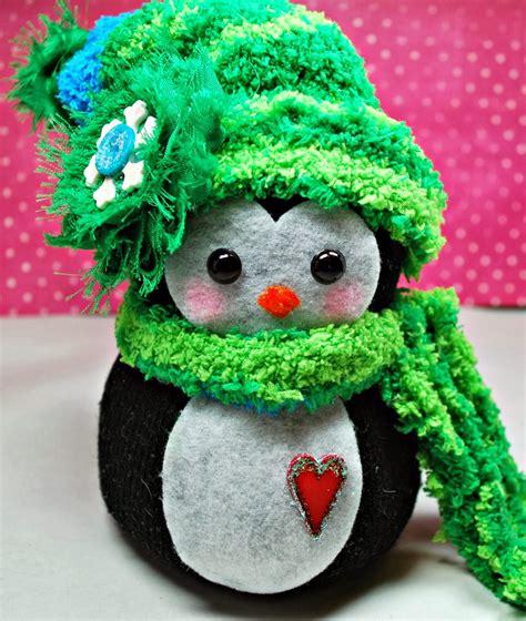 sock animals penguin up on tippy toes sock snowmen animals