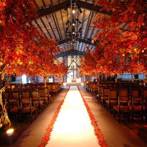 Fall wedding rustic barn wedding