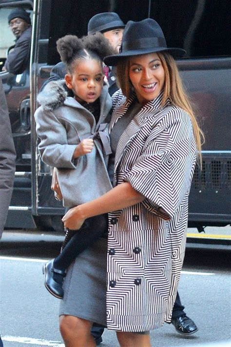 Beyonce and Jay Z Take Daughter, Blue Ivy, to Annie