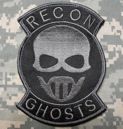 special ops patch recon ghosts special forces us black ops velcro