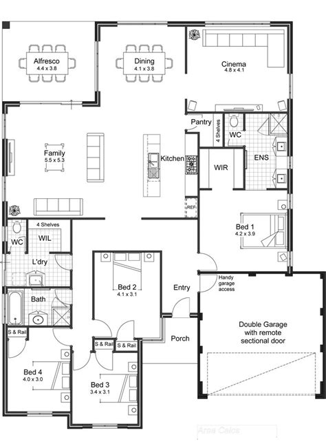 open floor plan house plans 25 best ideas about open floor plan homes on pinterest