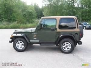 Jeep Green 1997 Jeep Wrangler 4x4 In Moss Green Pearl Photo