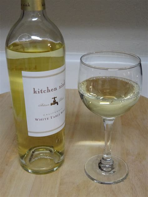 Kitchen Sink Wine Kitchen Sink Wine Lorrie S Wine And Food World Wine Review Kitchen Sink California White Table