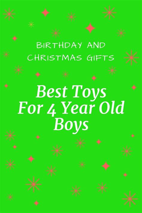 87 best best gifts for 4 year old boys images on pinterest