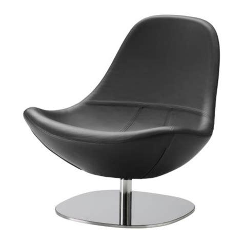 ikea black leather chair ikea tirup luxury leather black egg swivel chair chrome