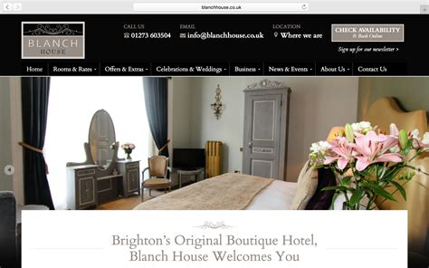design house website website design for blanch house oli pyle