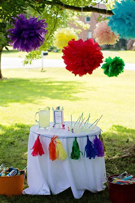 little decorations kara s party ideas my little pony rainbow party planning