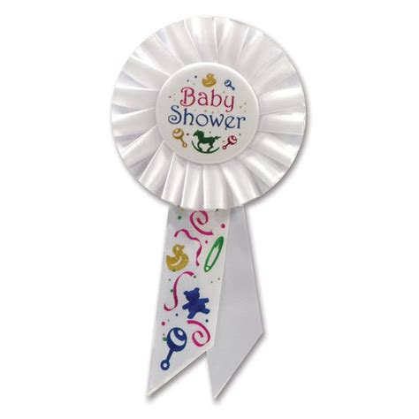 Baby Shower Ribbon For by Baby Shower Rosette Ribbon Partycheap