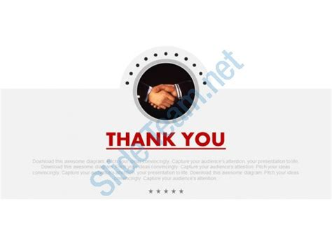Thank You Note Template Powerpoint Business Deal With Thank You Note Powerpoint Slides