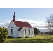 Quaint Country Church On The Way To Cape Palliser