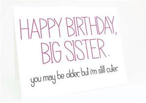 funny sister birthday card sayings pictures to pin on