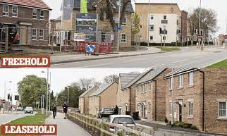 buying the freehold of a house how property developers are selling properties as leasehold instead of freehold