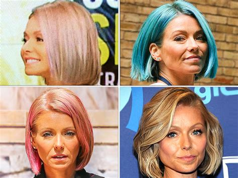 kelly ripa hair changes celebrity hair changes celebrity hair changes ashley