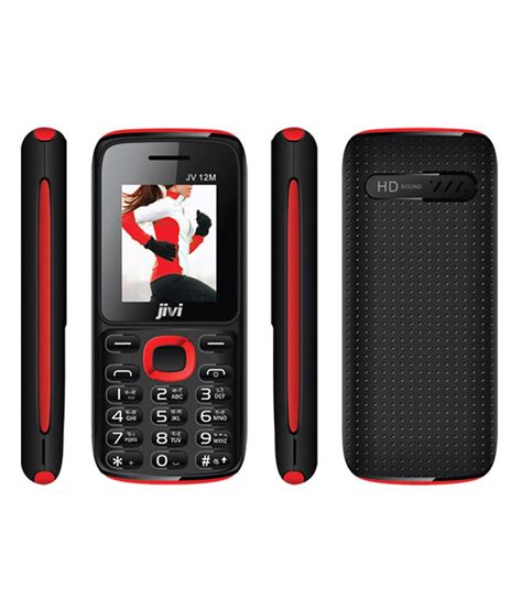 snapdeal offer on mobile phones jivi 12 m black and red snapdeal price phones deals at