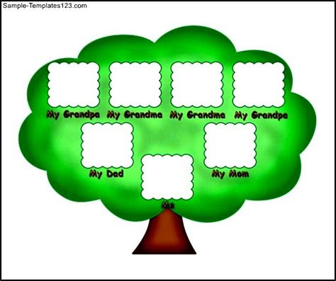 family trees for kids simple www imgkid com the image