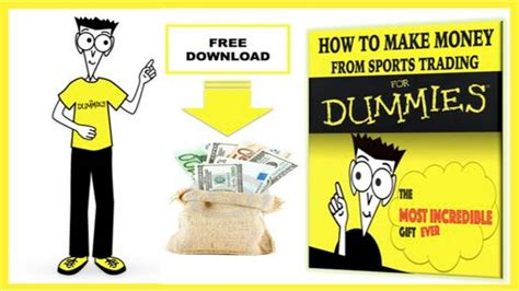 How To Make Money Online For Dummies - how to make money fast for dummies forex trading works sid