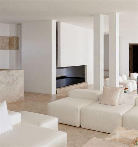 Blanc Et Beige by Deco Salon Blanc Et Beige Moderne