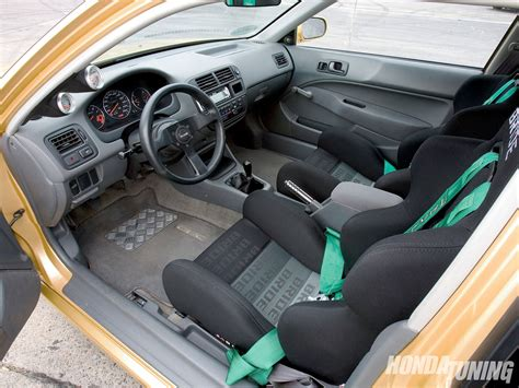 97 Honda Civic Interior by 1997 Honda Civic Cx Car Honda Tuning Magazine