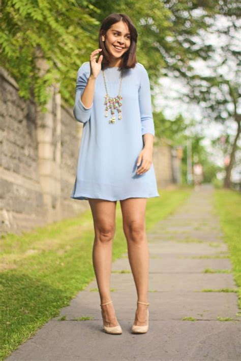 what color shoes with light blue dress fashion bananas banging style