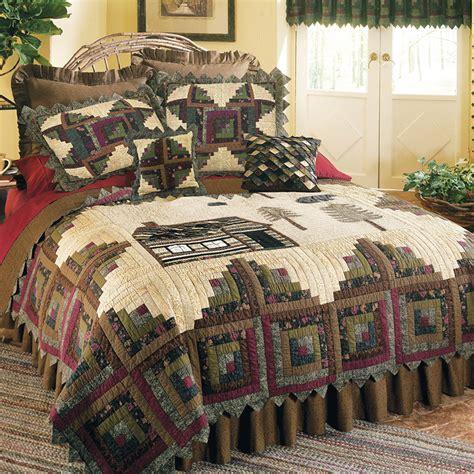 donna sharp bedding northwoods quilt