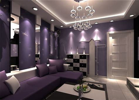 Purple Living Room Decor | 19 phenomenal purple living room design ideas