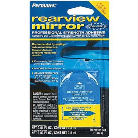 Rear View Mirror Glue