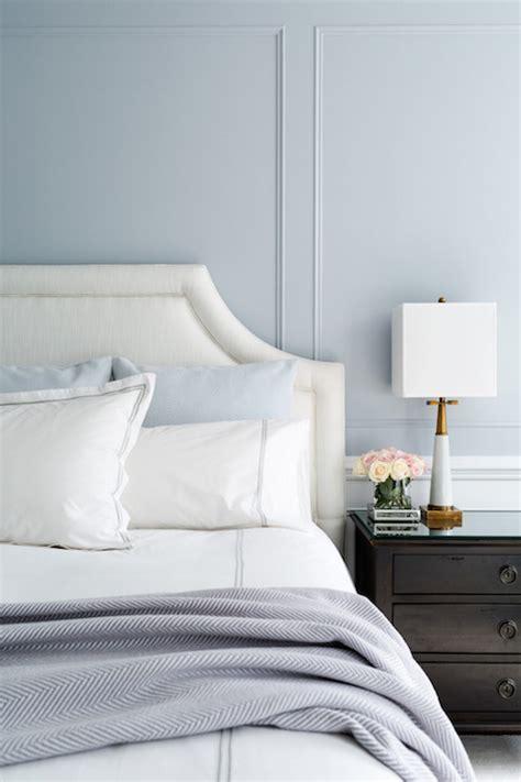 blue  gray bedroom design transitional bedroom