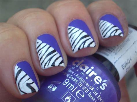 pics photos cute zebra nail designs art styles treatment