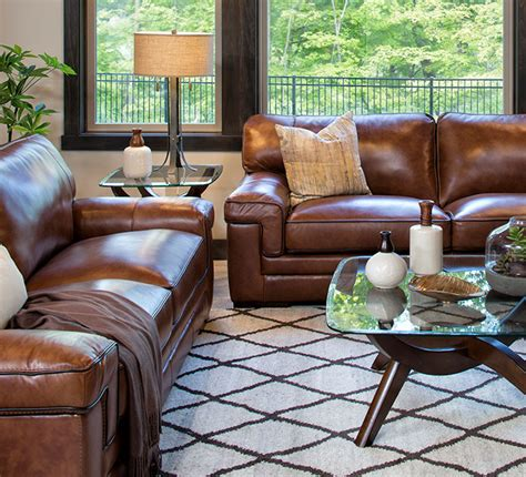 How To Decorate With Furniture by A Minnesota Casual Family Room Schneiderman S The