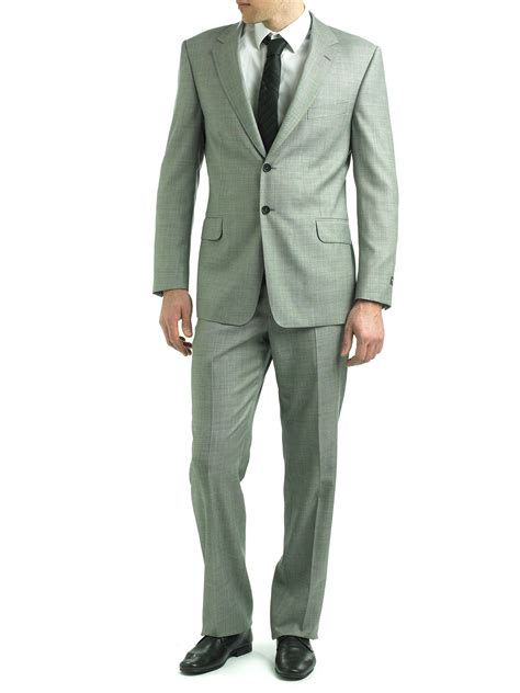 Blender Sharp Blazer grey wool suit grey