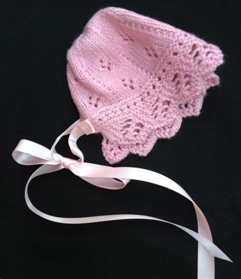 knit baby bonnet baby cardigan baby bonnet knit knitting pattern