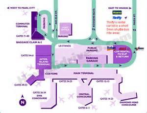 Car Rental Agencies Honolulu Airport Honolulu Hnl Oahu Car Rental Information