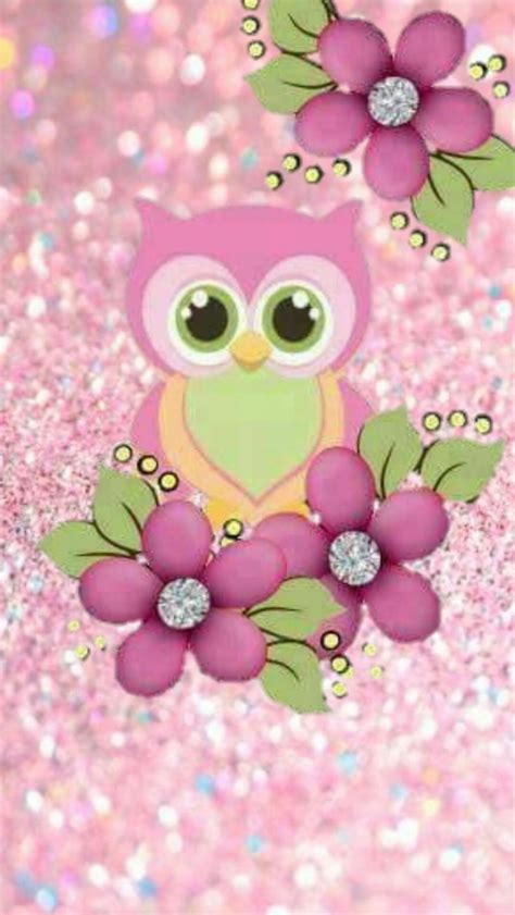 wallpaper iphone owl cute cute pink owl wallpaper for iphone awesome 3d wallpapers